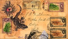 postal art