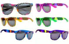 Neon Flip up Lens Sunglasses the Real World MTV Andrew Woods (Yellow) ThatsRad. $9.99
