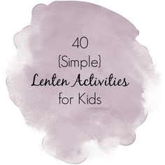 """Share Tweet + 1 Mail """"I'm participating in the Keeping LOVE in LENT Blog Link-Up 2013, hosted by Raising (& Teaching) Little Saints, Truly ..."""