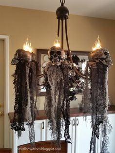247 best halloween candles candelabras chandeliers images in rh pinterest com