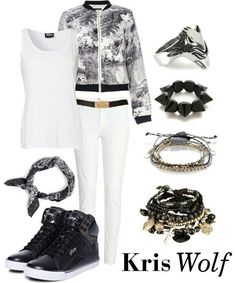 Exo kris's outfit wolf(women)