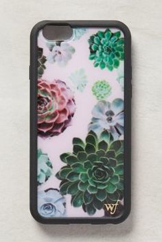 Anthropologie Shaded Succulents iPhone 6 Case