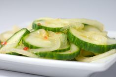 Cucumber Salad with Sweet Thai Chili Vinaigrette