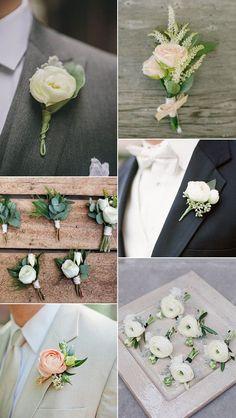 greenery-wedding-ideas-for-boutonniere.jpg 600×1.064 Pixel
