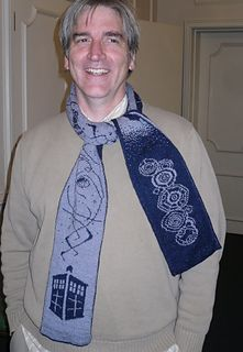 I have to knit this scarf designed by Frivolite Handcrafts