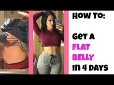 How I Got A Flat Stomach By Eating Unlimited Food & Light Exercise! My Daily Diet & Fitness Routine! - YouTube