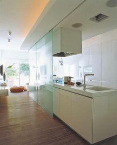 Ideas para zonas de cocina abiertas al salón | Decorar tu casa es facilisimo.com