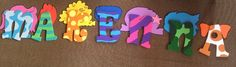 Letters I painted! Bubble Guppies Decorations, Bubble Guppies Party, 4th Birthday Parties, 3rd Birthday, Bubble Guppies Characters, Third, Fonts, Bubbles, Birthdays