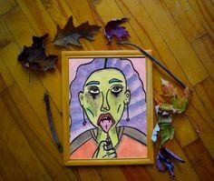 Aquarelle réalisée par l'artiste Claudia Chartier en 2017. Etsy Seller, Creative, Painting, Water Colors, Artist, Painting Art, Paintings, Painted Canvas, Drawings