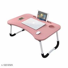 Laptop Adaptor Smart Multi-Purpose Laptop Table with Dock Stand/Study Table/Bed Table/Foldable and Portable/Ergonomic & Rounded Edges/Non-Slip Legs/Engineered Wood (PINK) Product Name: Smart Multi-Purpose Laptop Table with Dock Stand/Study Table/Bed Table/Foldable and Portable/Ergonomic & Rounded Edges/Non-Slip Legs/Engineered Wood (PINK) Brand Name: SHIV ENTERPRISE Color: Pink Compatibility: Laptops Multipack: 1  Sizes Available: Free Size   Catalog Rating: ★4.4 (298)  Catalog Name: SHIV ENTERPRISE Laptop Adapters CatalogID_2339555 C106-SC1537 Code: 895-12212929-