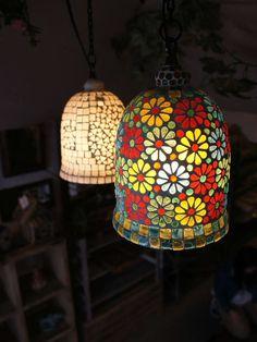 MOSAIC GLASS LAMP BELL Http://item.rakuten.co.jp/