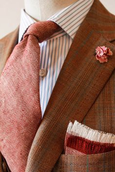 Marvelous autumn colour palette. #fashion #menswear #suit #layering