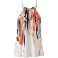 TWENTY8TWELVE Top (1.110 DKK) ❤ liked on Polyvore featuring tops, blusas, shirts, blouses, tank tops, bunt and twenty8twelve