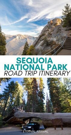 Want to visit Sequoia National Park? Here is your perfect Sequoia National Park itinerary! Things to do in Sequoia National Park | Sequoia with kids | Sequoia National Park camping | Sequoia National Park hikes | Sequoia National Park lodging | Moro Rock | General Sherman | where to stay in Sequoia National Park | Sequoia National Park photography |  road trip Sequoia National Park | Sequoia National Park California Sequoia National Park Lodging, Sequoia National Park California, National Parks Usa, American National Parks, Park Photography, Landscape Photography, Road Trip With Kids, Road Trip Usa, California Travel