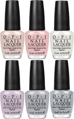 A collaboration between OPI and the New York City Ballet. Love the concept, and the colors are very pretty.