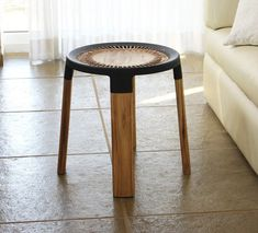 5th Column's Ciro Wooden Stool Mixes Modern and Traditional Processes