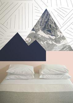 Rysy-day / non-woven wallpaper / lavmi