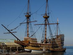 The Mayflower ll in Plymouth, MA  and  visiting Plimouth Plantation .....4 days! :)