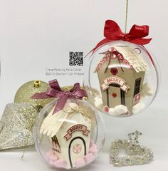 CLEVERPACKS by Keila Calver – Design & Make | Independent Stamping Up© UK Demonstrator http://www.keilacalver.co.uk/en/39-sleeps-till-christmas-house-in-a-bauble-with-stampin-up-sweet-home-bundle/