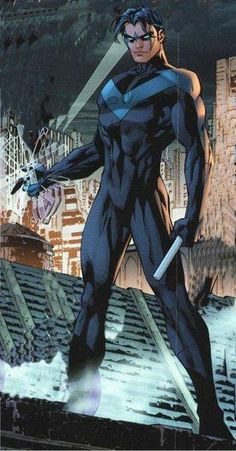 Nightwing. The original Boy Wonder.  :)