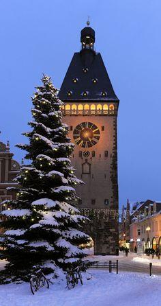 "chasingrainbowsforever: "" Speyer, Germany "" Winter Wonderland"