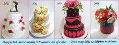 Third Business Anniversary » Veena's Art of Cakes