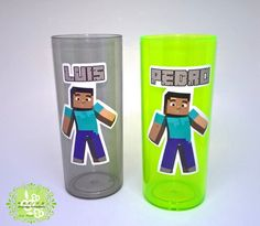 Copo Long Drink Minecraft
