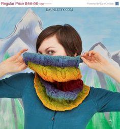EN venta de lana de punto chimenearedecilla para mujer por Kauni