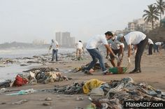 #PernodRicard India employees with Cleanup Verova Beach cleaned 20,000 kg garbage from the beach
