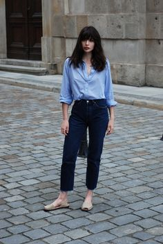 H / Laura Matuszczyk: Just jeans and shirt