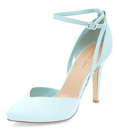 - Pointed toe- Ankle strap design- Soft finish- Heel height: 4