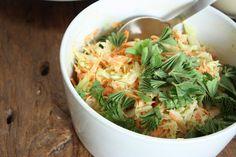 herkku ja koukku / Coleslaw (kesän paras salaatti)