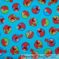 Licensed Fleece Fabric Elmo Warhol I Plan On Making