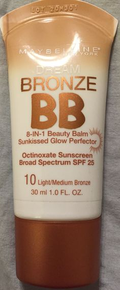 Maybelline bronze bb cream in light/medium- NEW