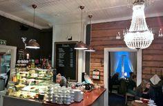 Cafe Oskari in Lahti, Finland
