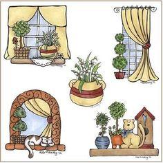 figuras de decoupage 24 - jeanne - Álbumes web de Picasa