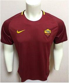 www.ibaratoes.es Camisetas de fútbol Serie A  camiseta de futbol Roma 1718 home rojo SAT10