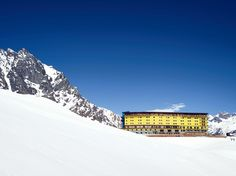 Why Portillo in the Chilean Andes Should Be Your Next Ski Trip - Condé Nast Traveler