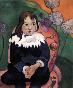 Loulou by Paul Gauguin in oil on canvas, done in Now in The Barnes Foundation. Find a fine art print of this Paul Gauguin painting. Paul Gauguin, Henri Matisse, Henri Rousseau, Barnes Foundation, Oil Canvas, Painting Canvas, Georges Seurat, Impressionist Artists, Painter Artist