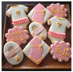 #babyshower #baby #girl #cookie