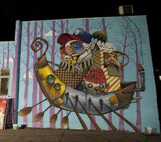 Bozko - Bulgarian Street Artist - Sofia (BG)  #bozko #streetart