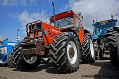 Pics: Machinery and childhood memories abound at huge Ford tractor display Big Tractors, Ford Tractors, New Holland Ford, Tractor Pictures, Fiat, Techno, Childhood Memories, Automobile, Monster Trucks