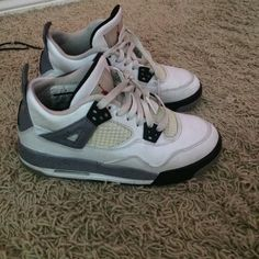 06775723e48b11 Shop Women s Jordan size 5 Shoes at a discounted price at Poshmark.  Description  Air jordan cement classical pair goes with everything.