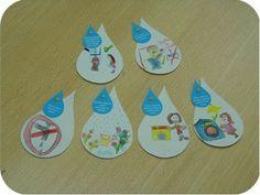 mensagem dia agua - Atividades para Educação Infantil