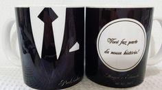 As canecas personalizadas da by Luciana Godoy são canecas de porcelana branca, classe AAA (perfeição e alto brilho), no tamanho 9,5cmx8,5cm e 325ml.    Resistente a microondas e lava-louças, feitas em impressão digital permanente, garantindo a qualidade através do tempo.    Personalize as canecas...