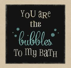 Download Bubble to my Bath Wall Art