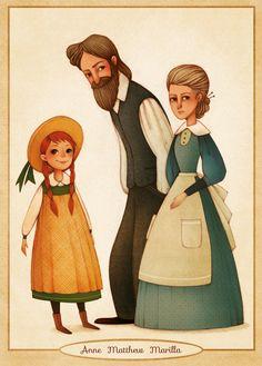 Gaia Bordicchia Illustrations: Anne of Green Gables