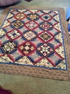 Little Quilts Blog: Peace and Unity Quilt