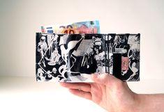 Portemonnaie SIN CITY Comic upcycling Unikat! Geldbörse, Brieftasche, Geldbeutel Sincity Comic wallet handmade in Berlin von PauwPauw auf Etsy