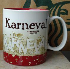Starbucks City Mug Cup Global Icon Series Karneval Carnival Germany V2 16oz NEW